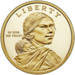 2019 Native American One Dollar Proof Obverse