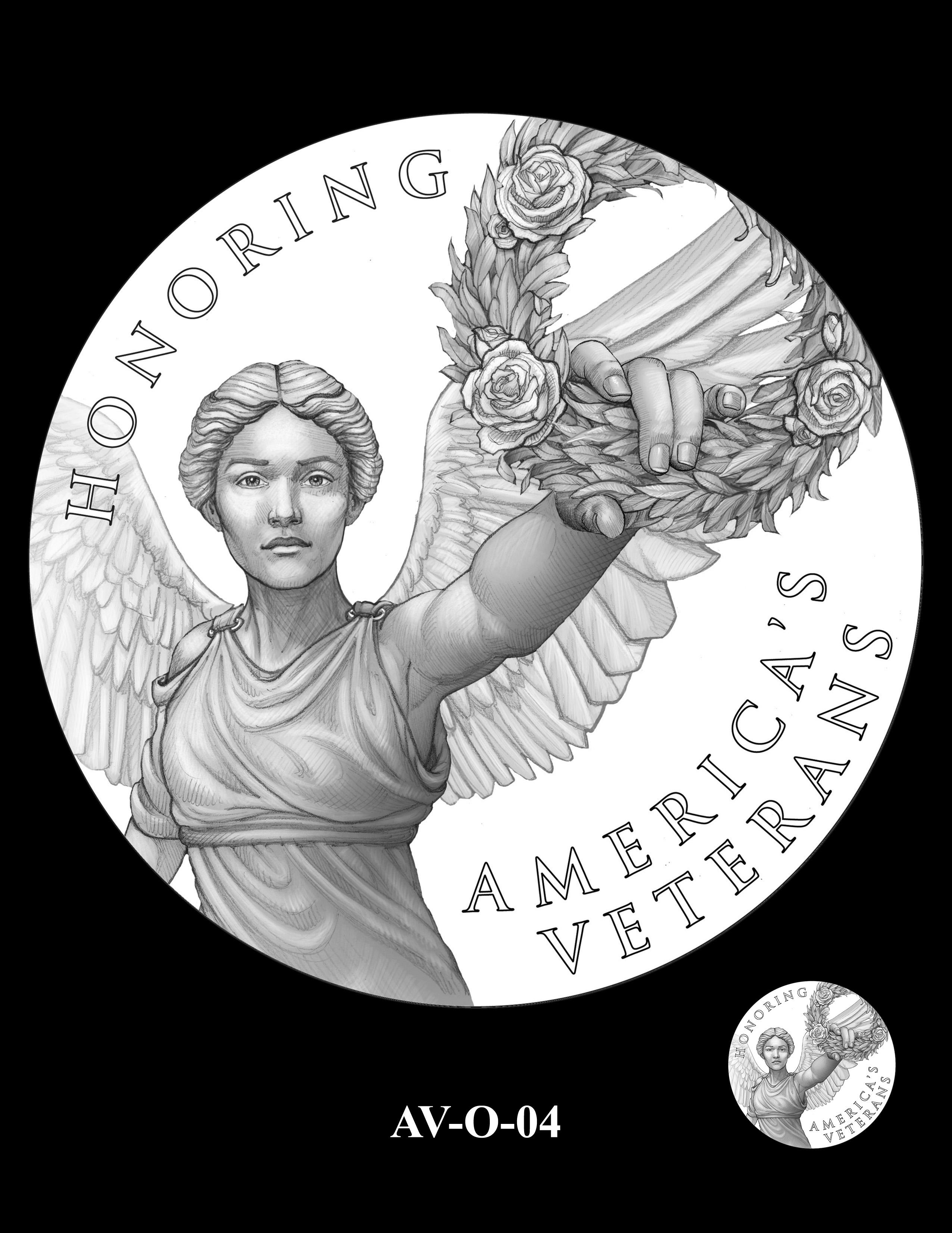 AV-O-04 - American Veterans Medal