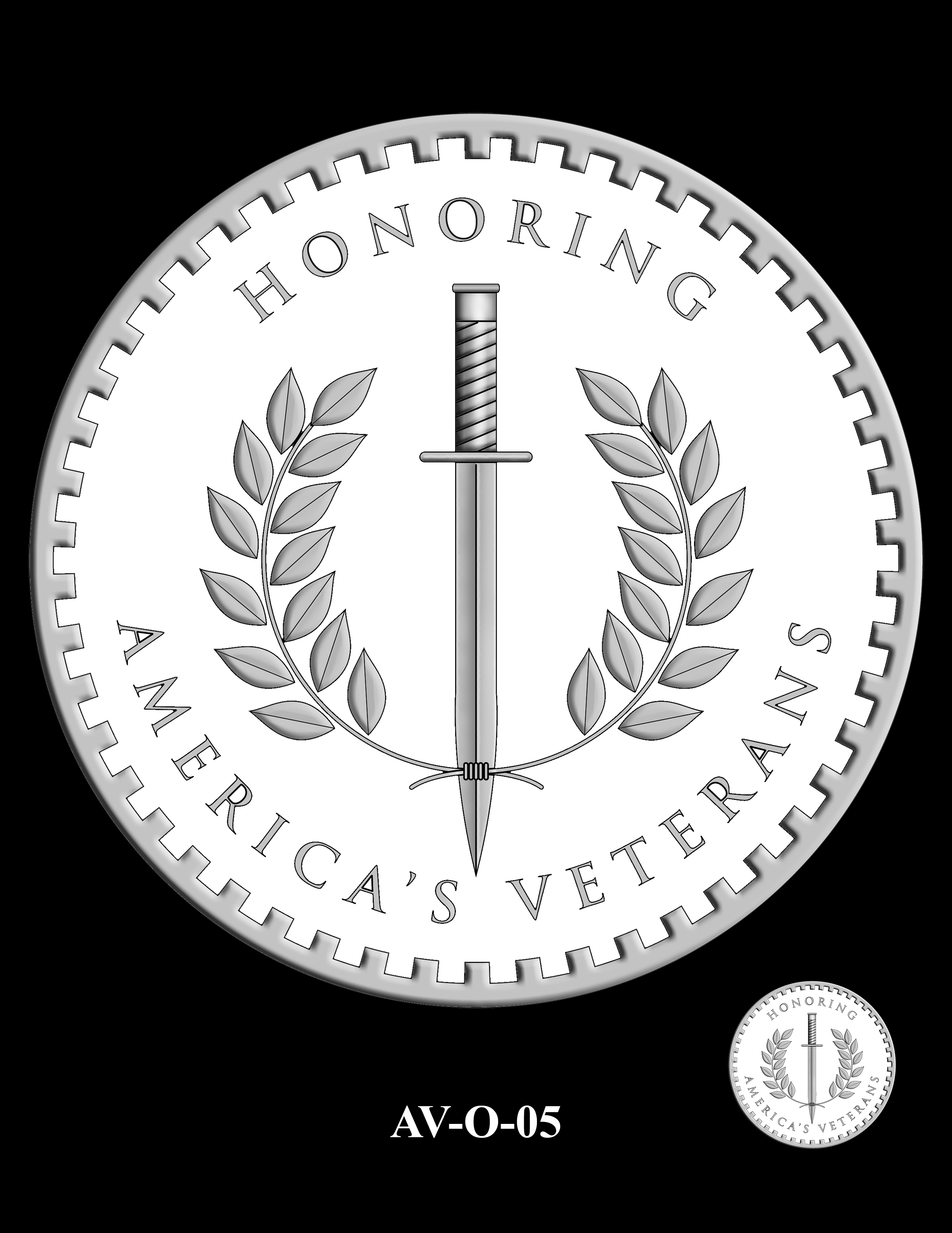 AV-O-05 - American Veterans Medal