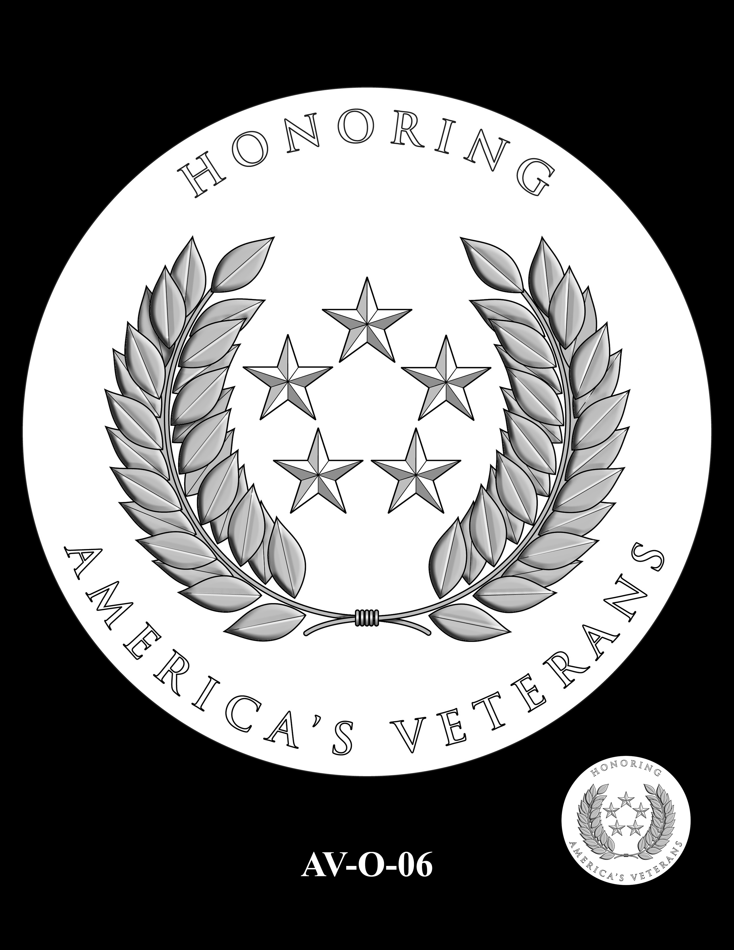 AV-O-06 - American Veterans Medal