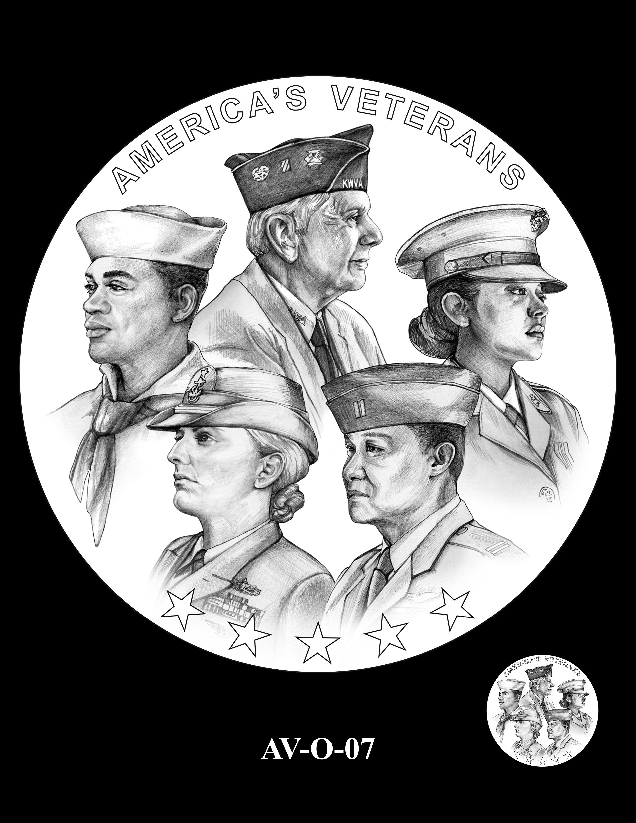 AV-O-07 - American Veterans Medal
