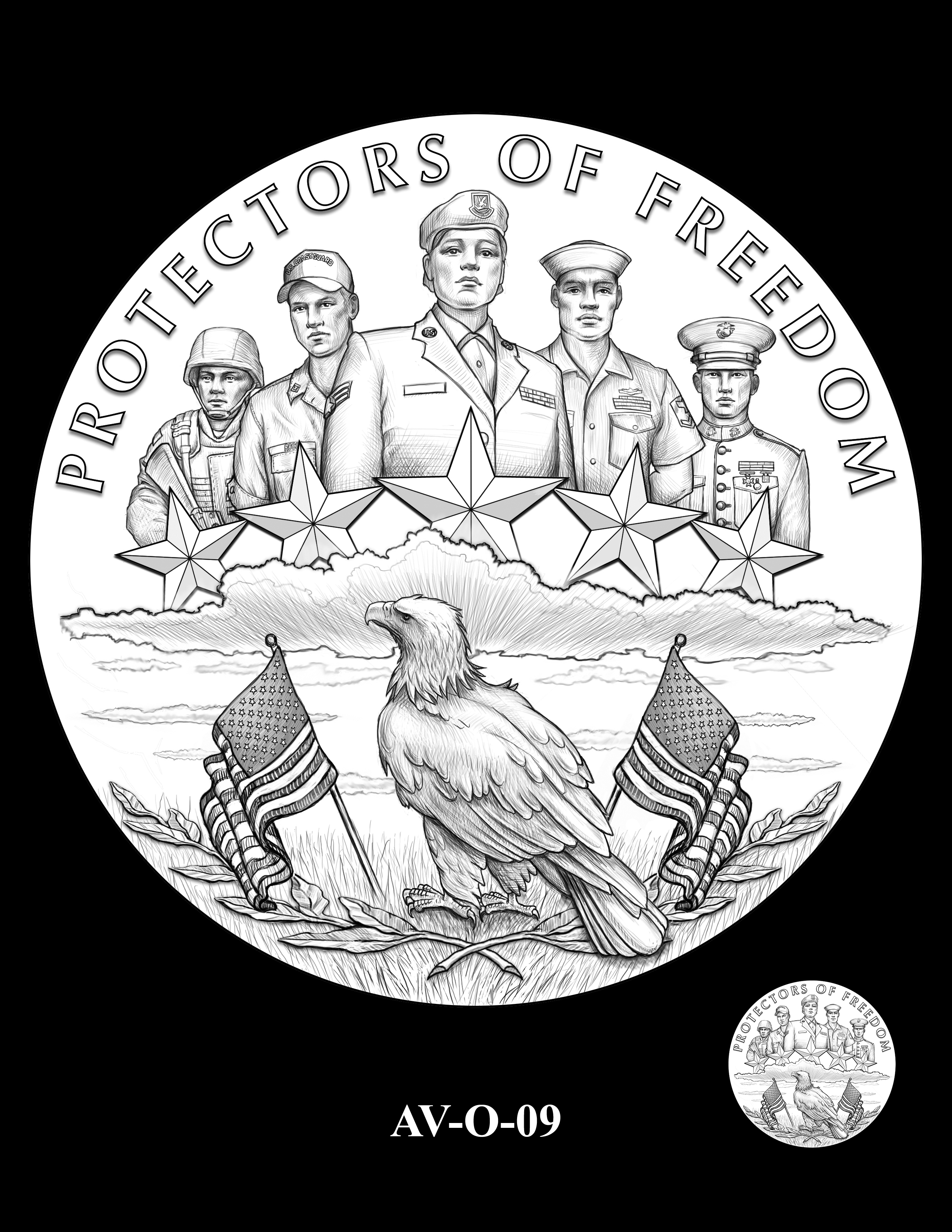 AV-O-09 - American Veterans Medal