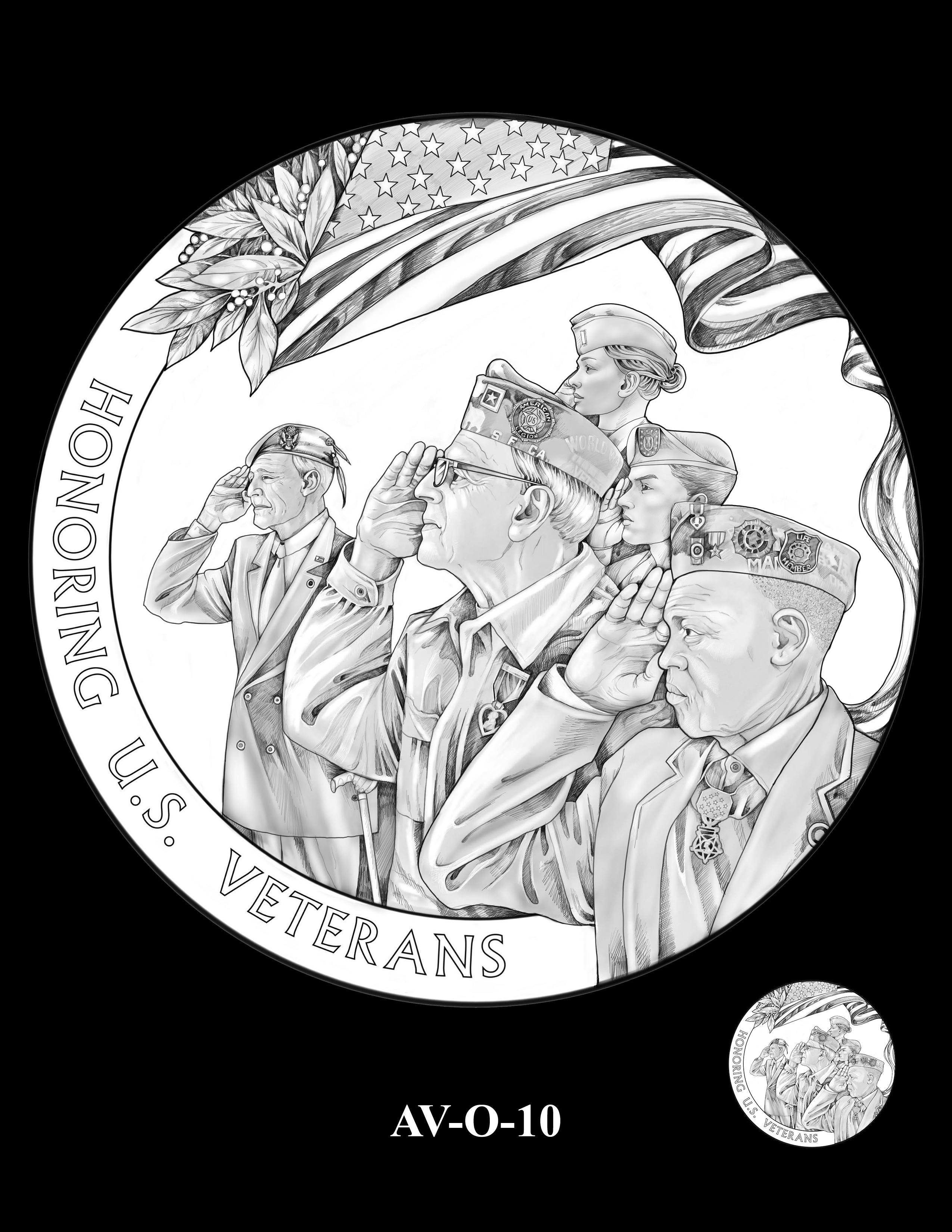 AV-O-10 - American Veterans Medal