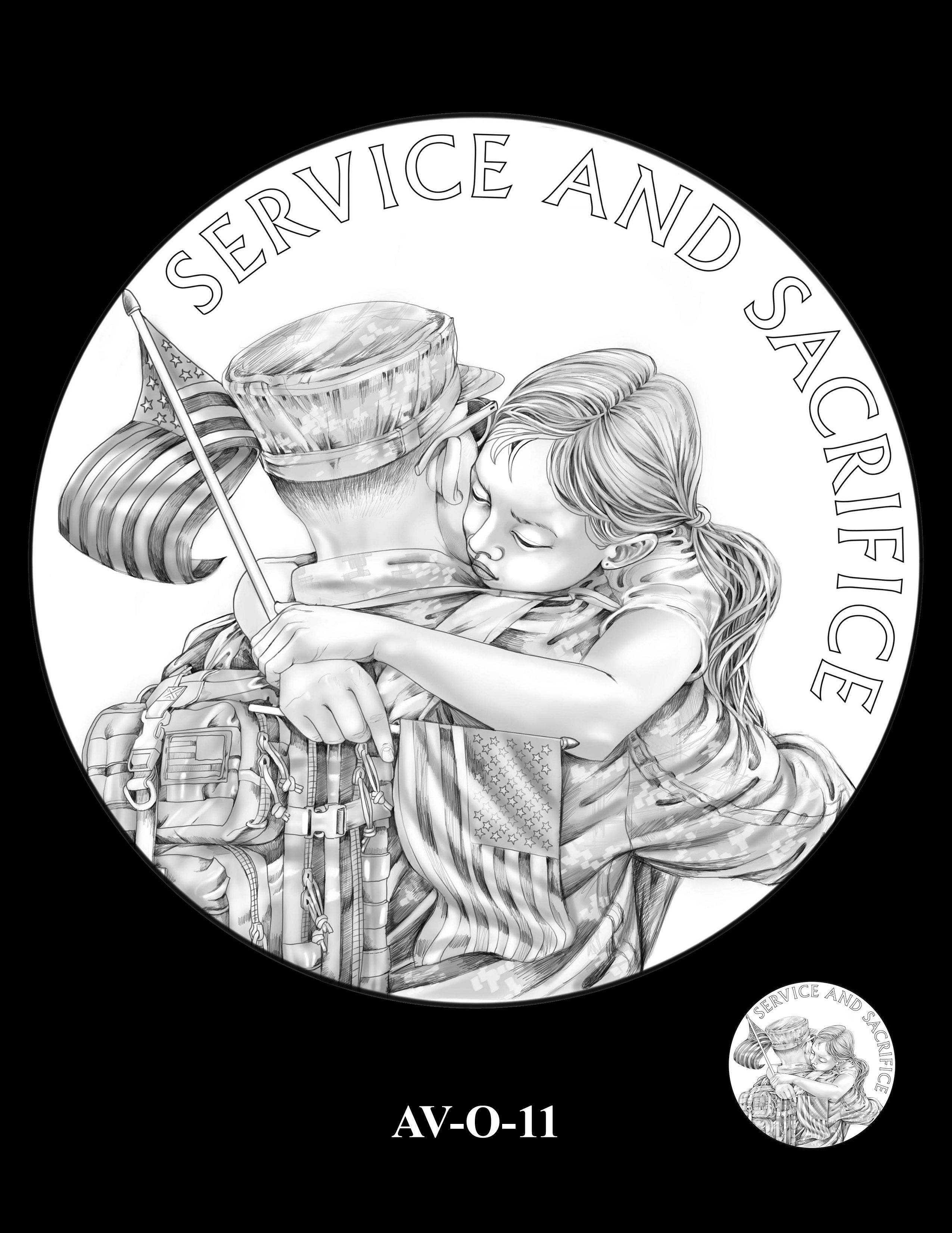 AV-O-11 - American Veterans Medal