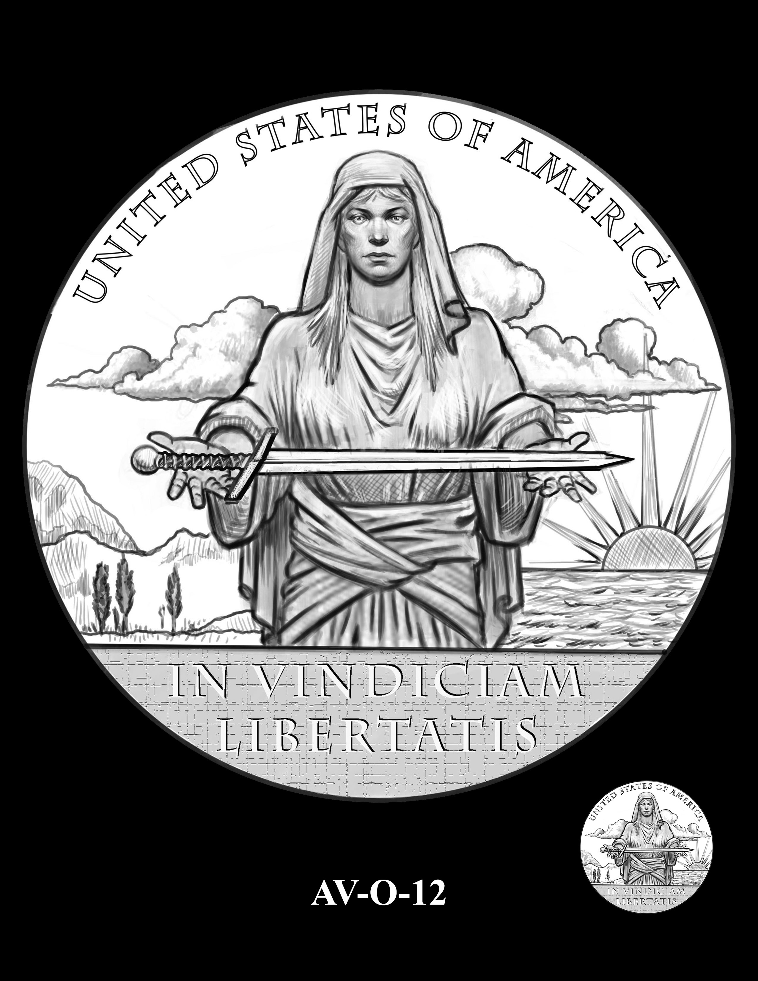 AV-O-12 - American Veterans Medal