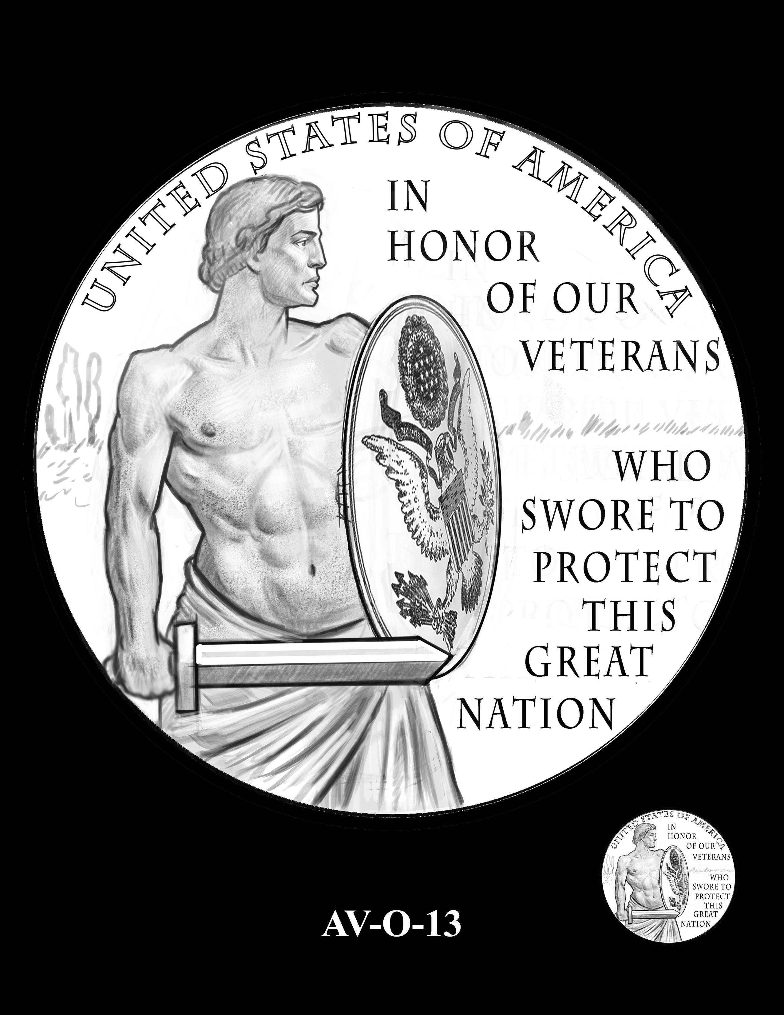 AV-O-13 - American Veterans Medal