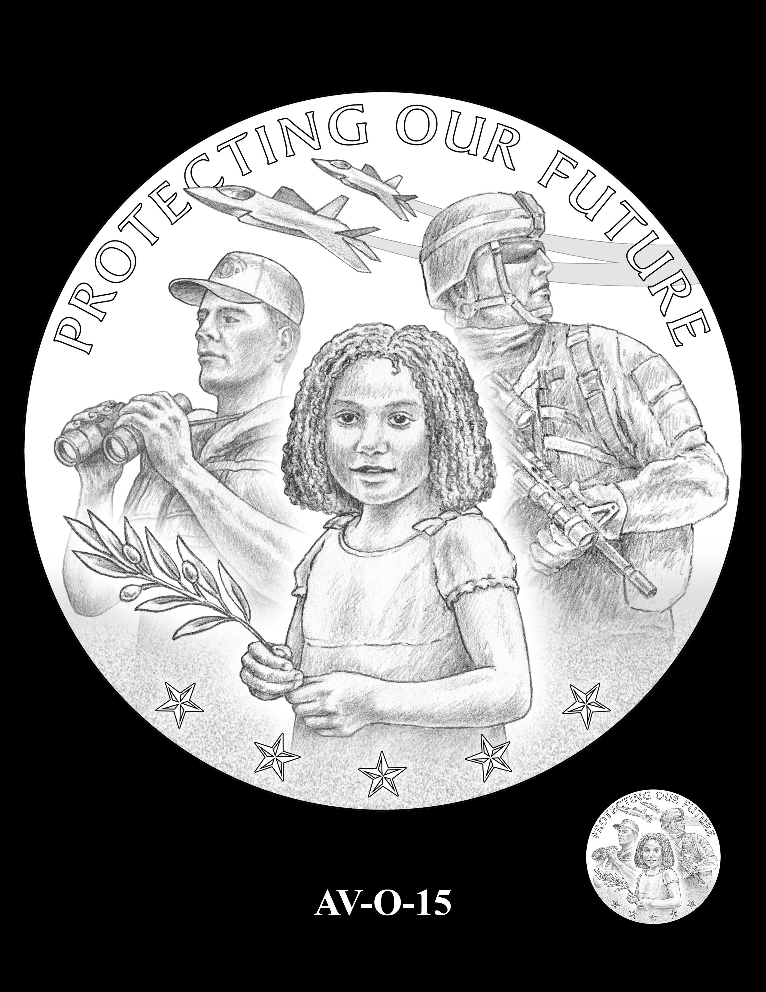 AV-O-15 - American Veterans Medal