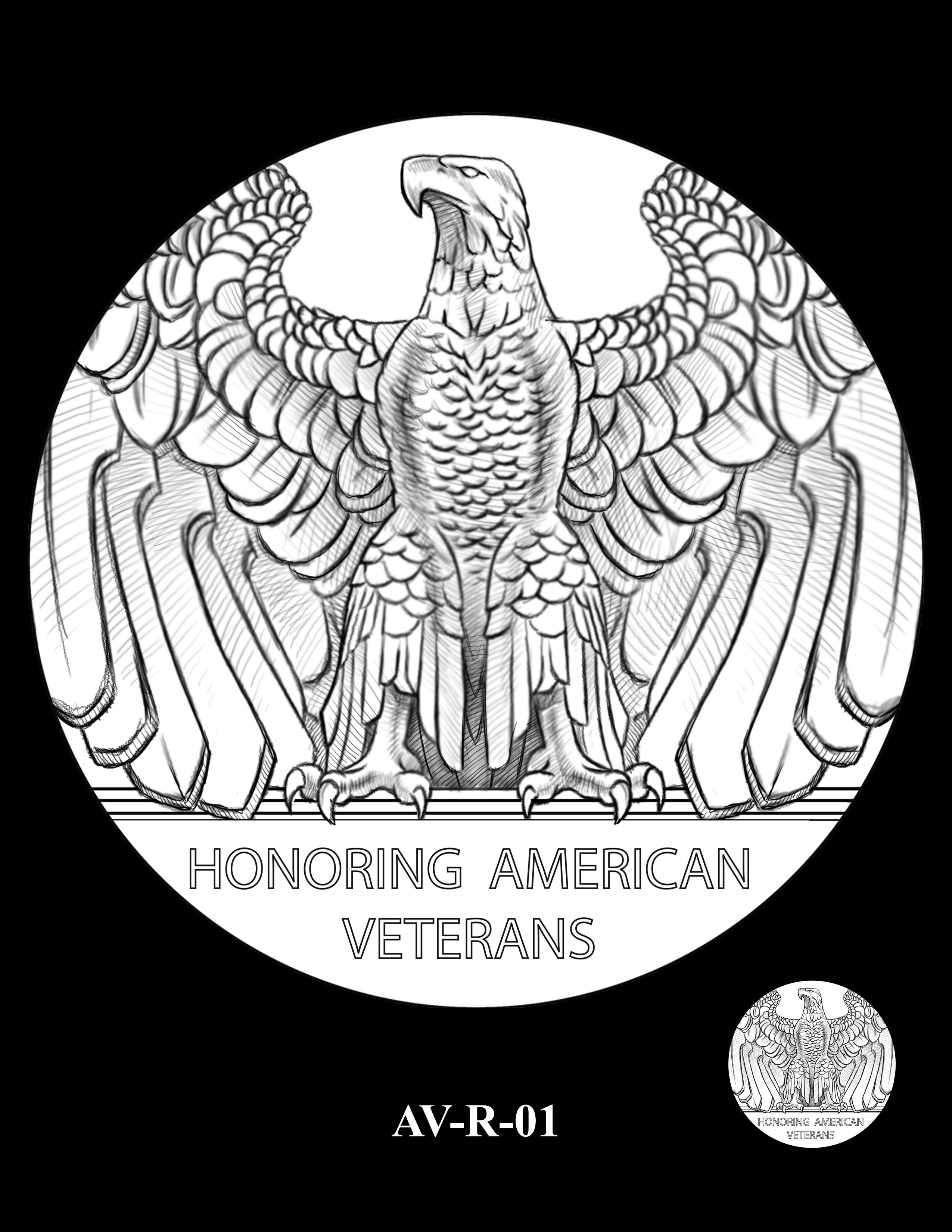 AV-R-01 - American Veterans Medal