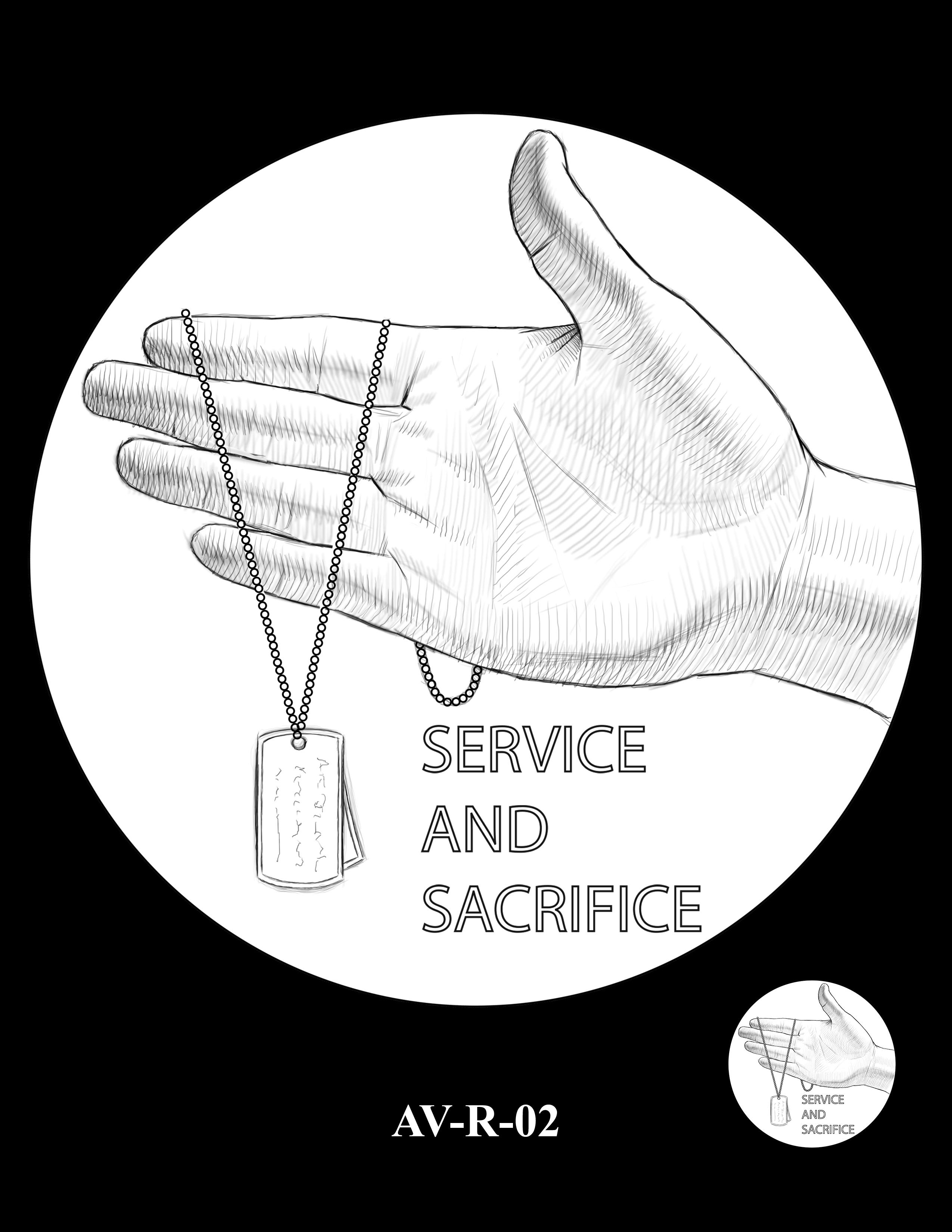 AV-R-02 - American Veterans Medal