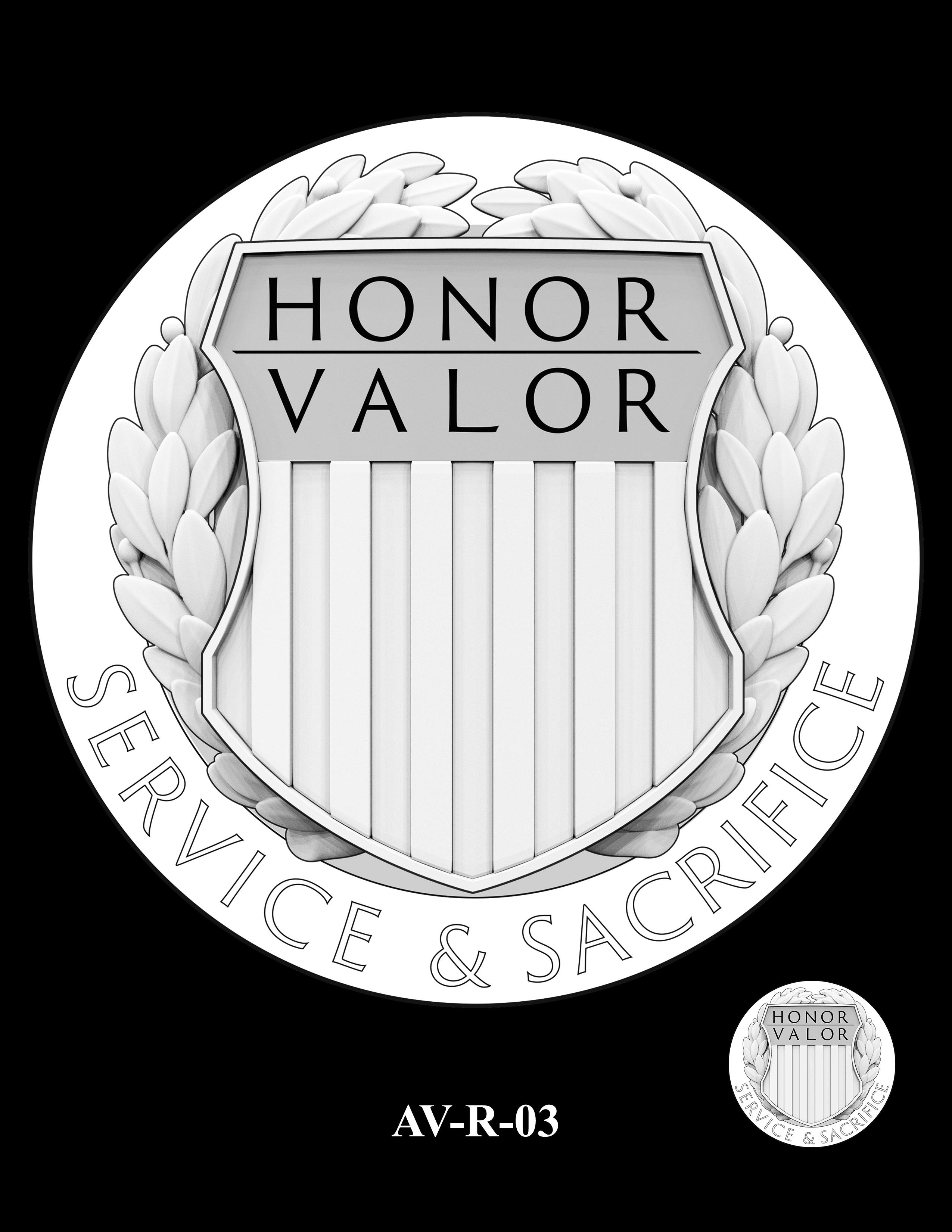 AV-R-03 - American Veterans Medal