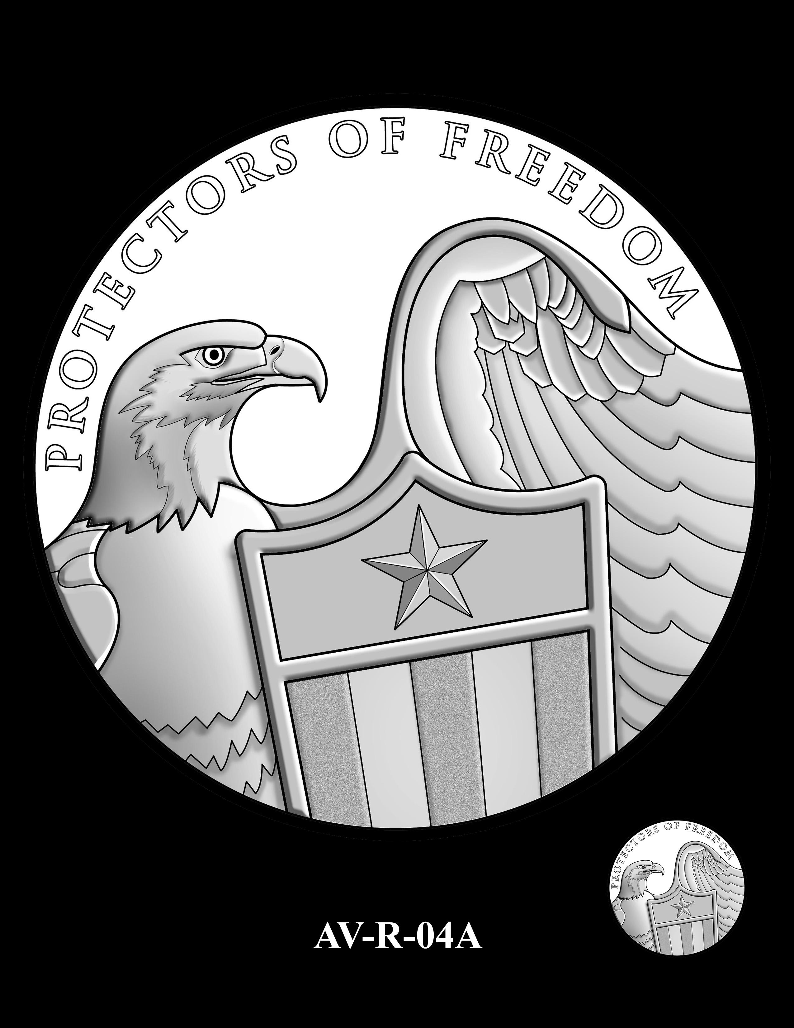 AV-R-04A - American Veterans Medal