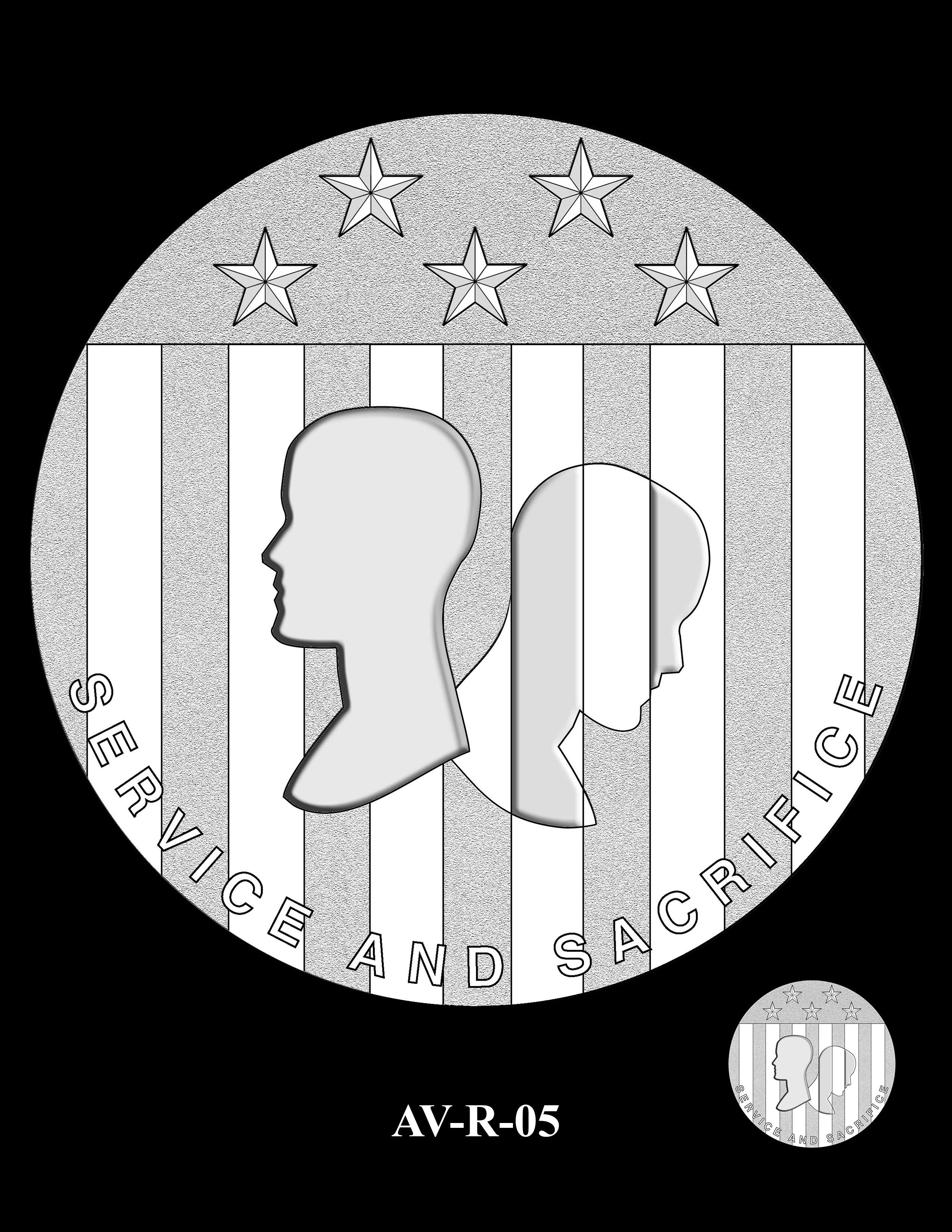 AV-R-05 - American Veterans Medal