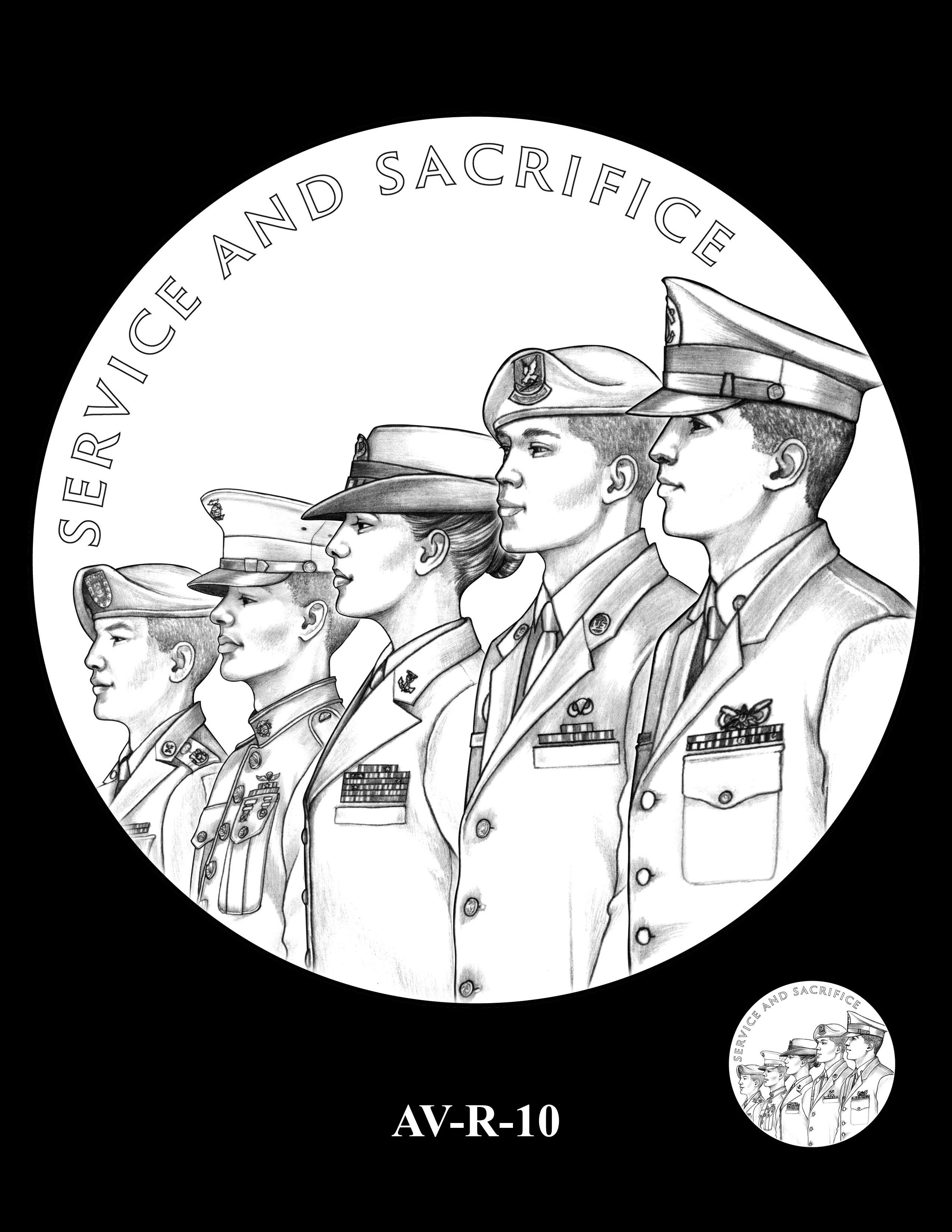 AV-R-10 - American Veterans Medal