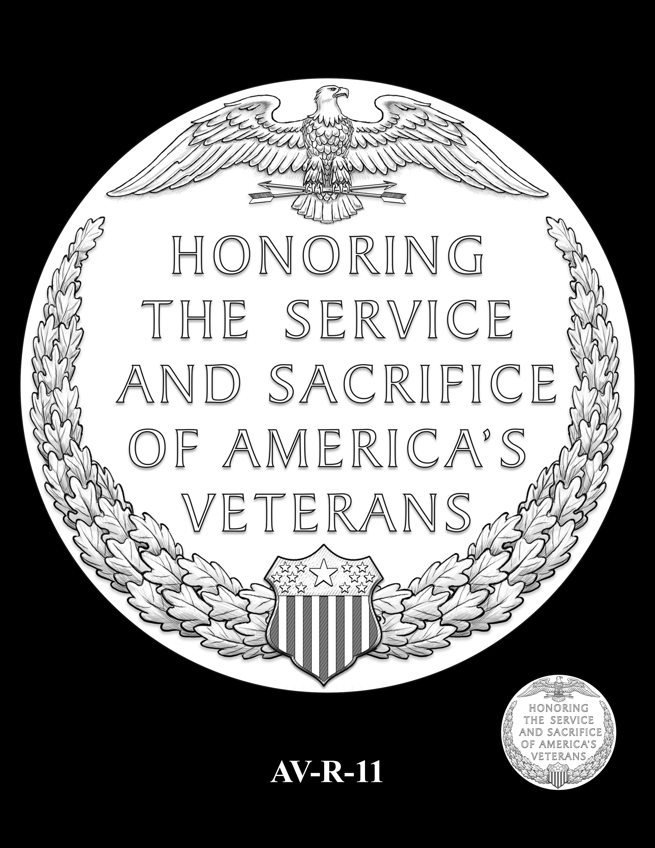 AV-R-11 - American Veterans Medal