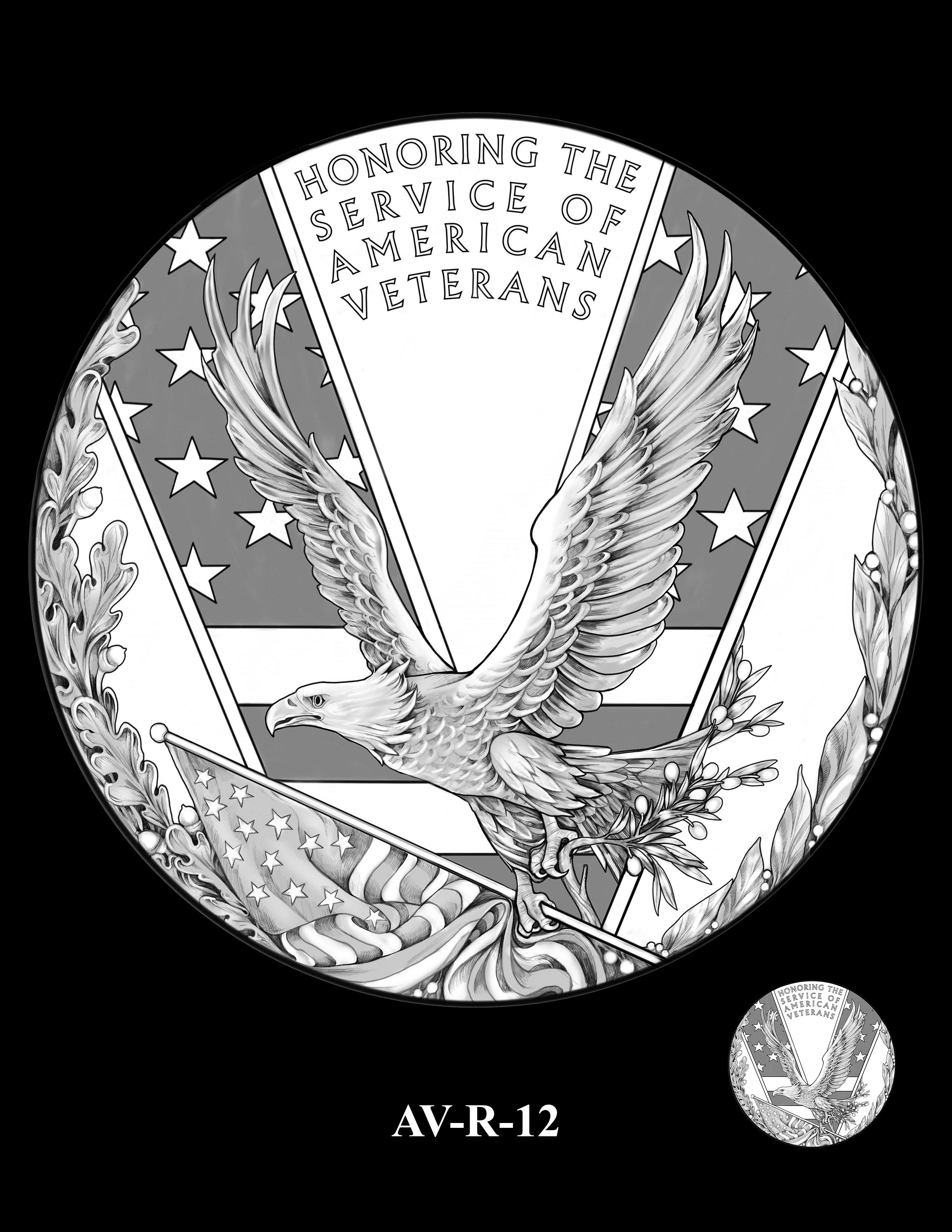 AV-R-12 - American Veterans Medal