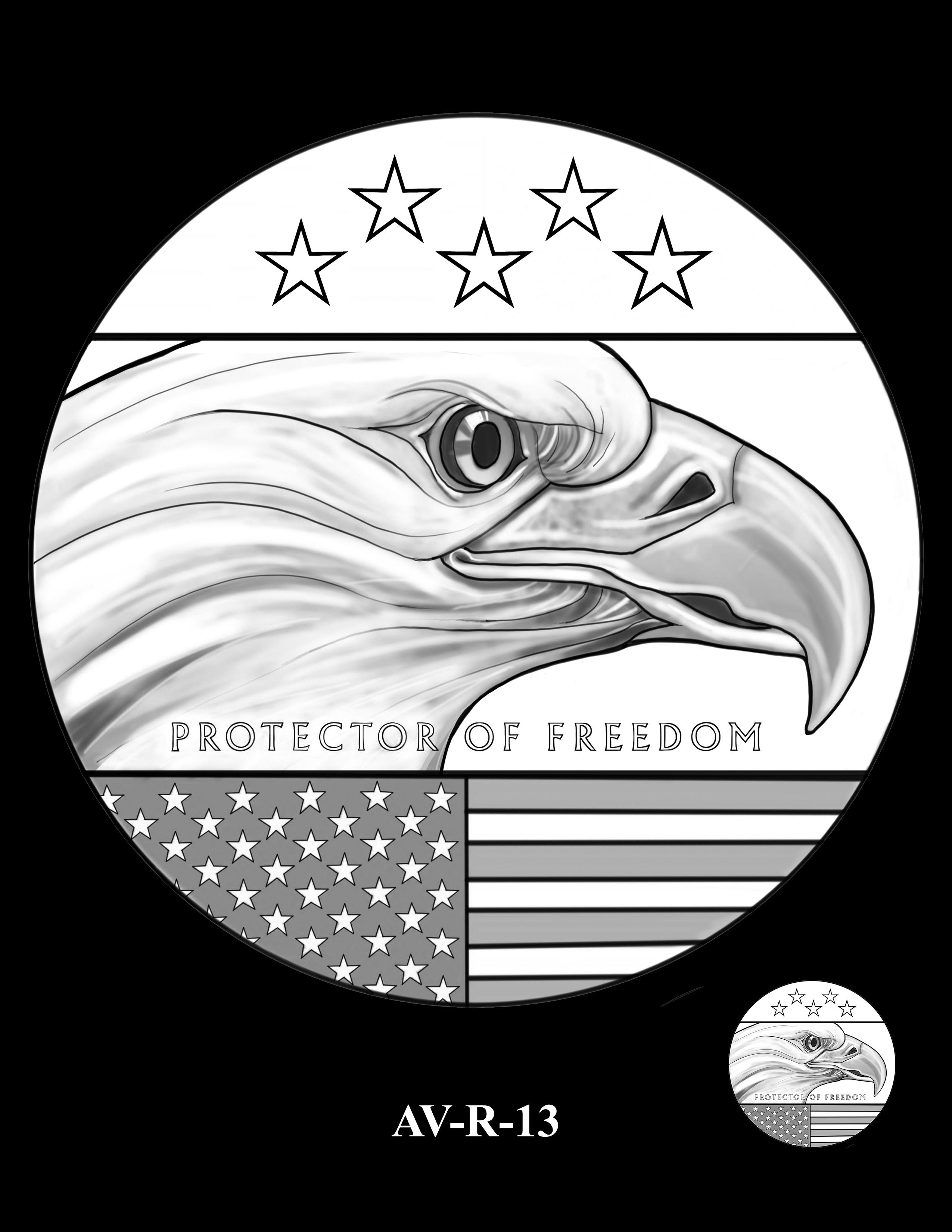 AV-R-13 - American Veterans Medal
