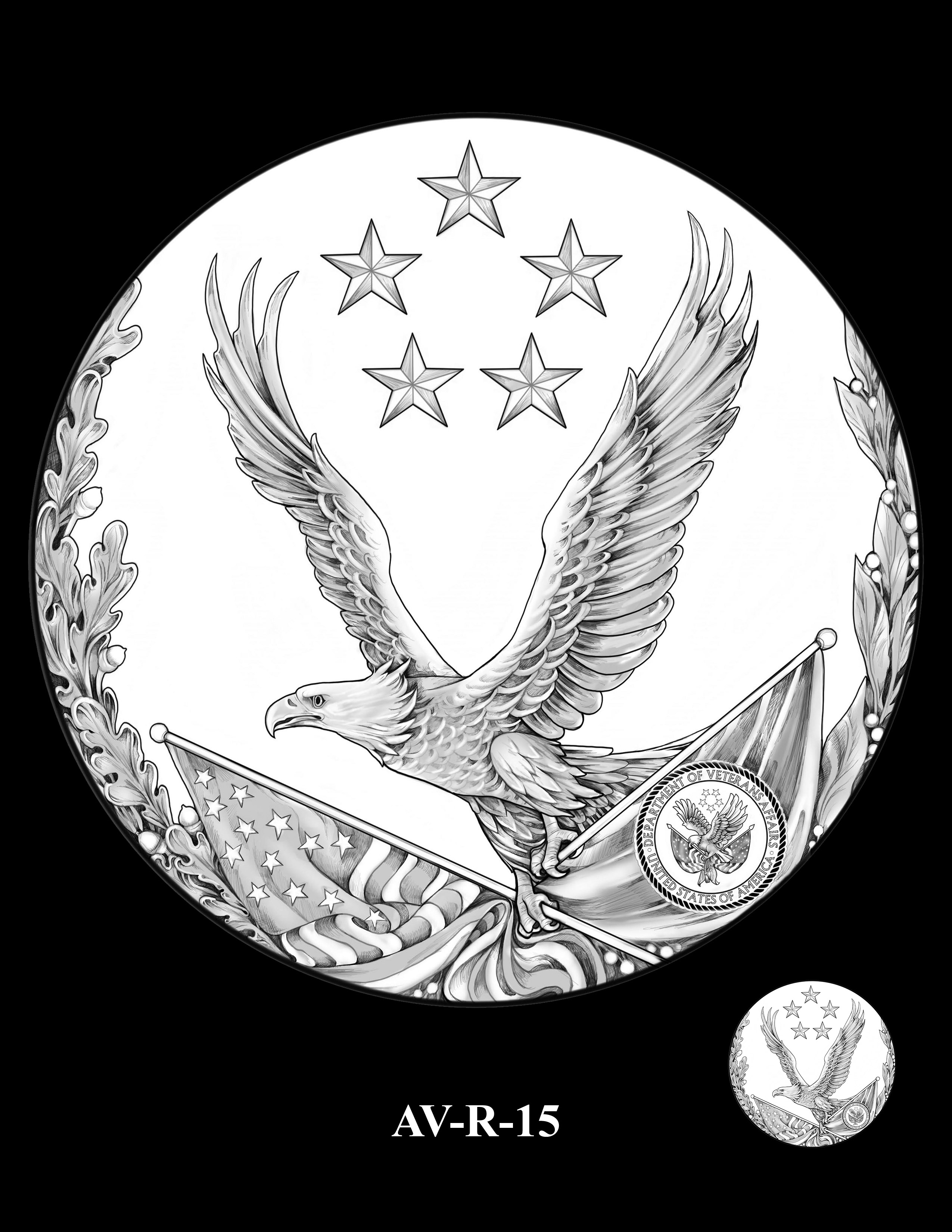 AV-R-15 - American Veterans Medal