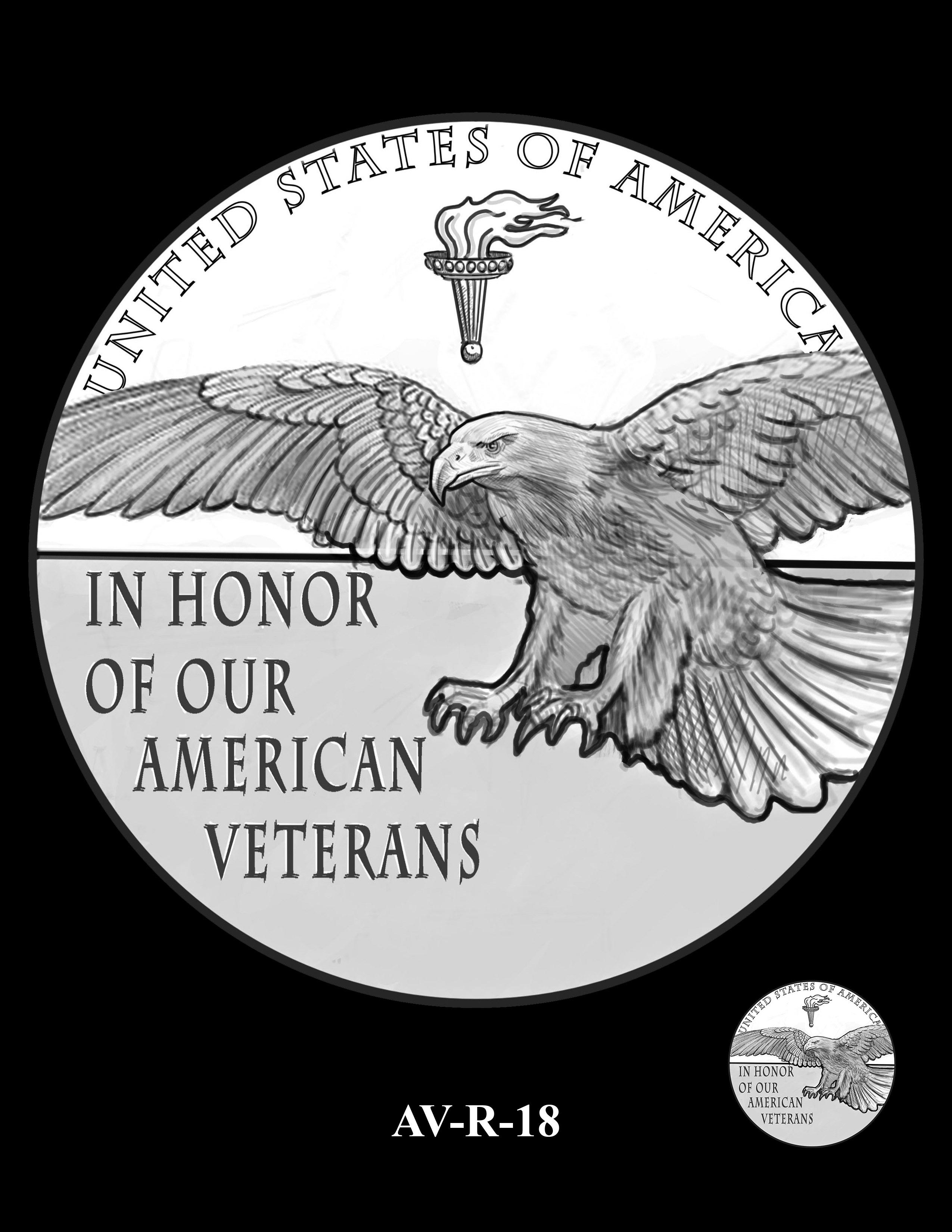 AV-R-18 - American Veterans Medal