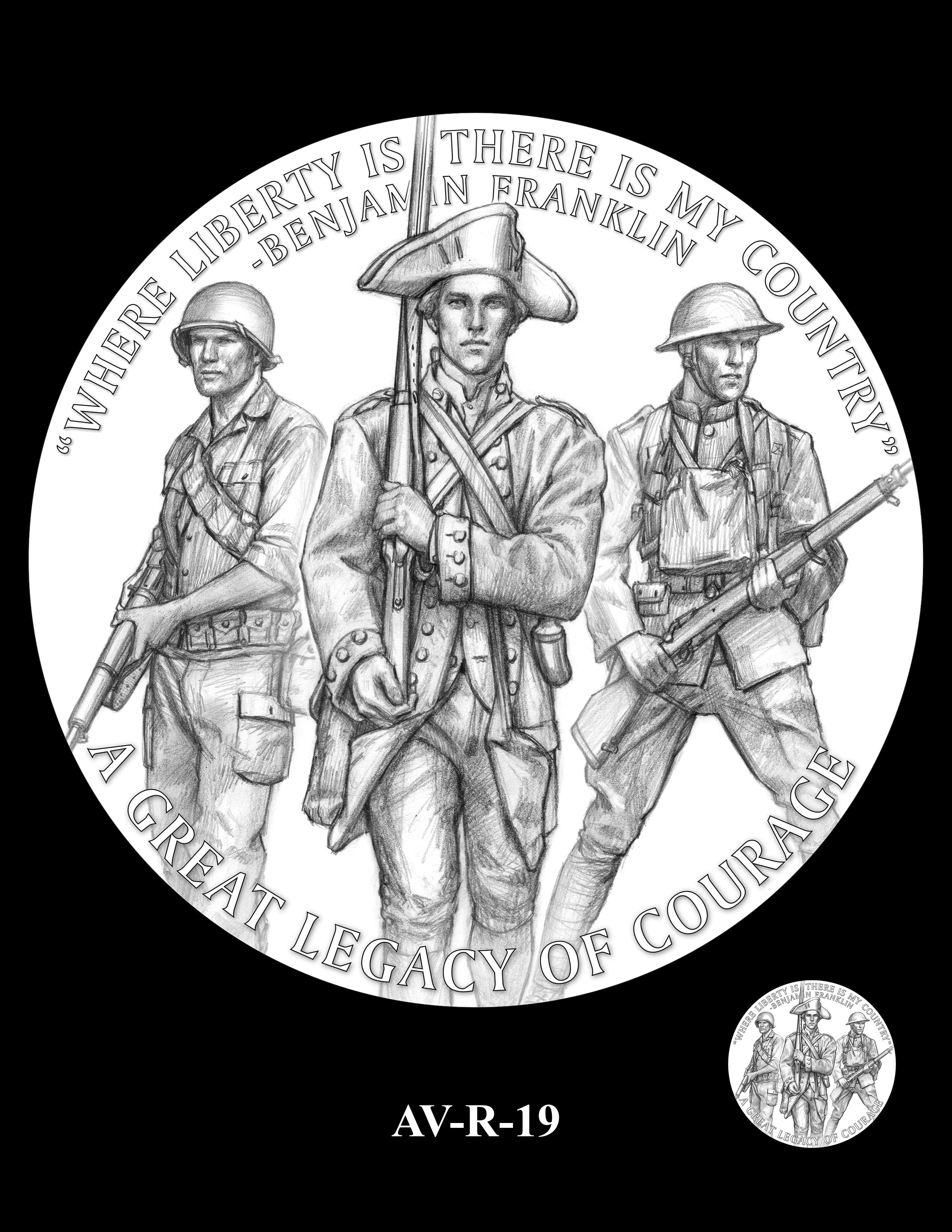 AV-R-19 - American Veterans Medal