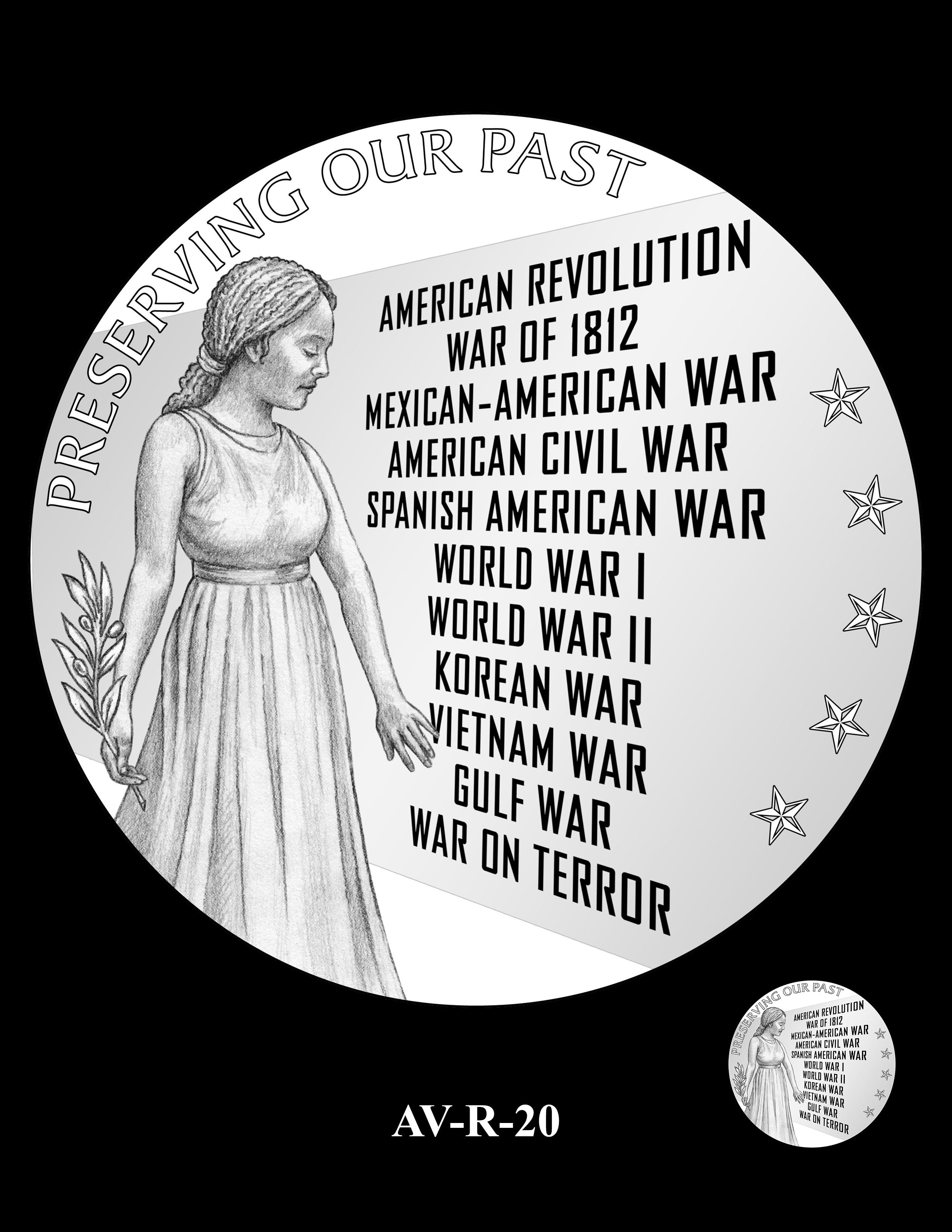 AV-R-20 - American Veterans Medal
