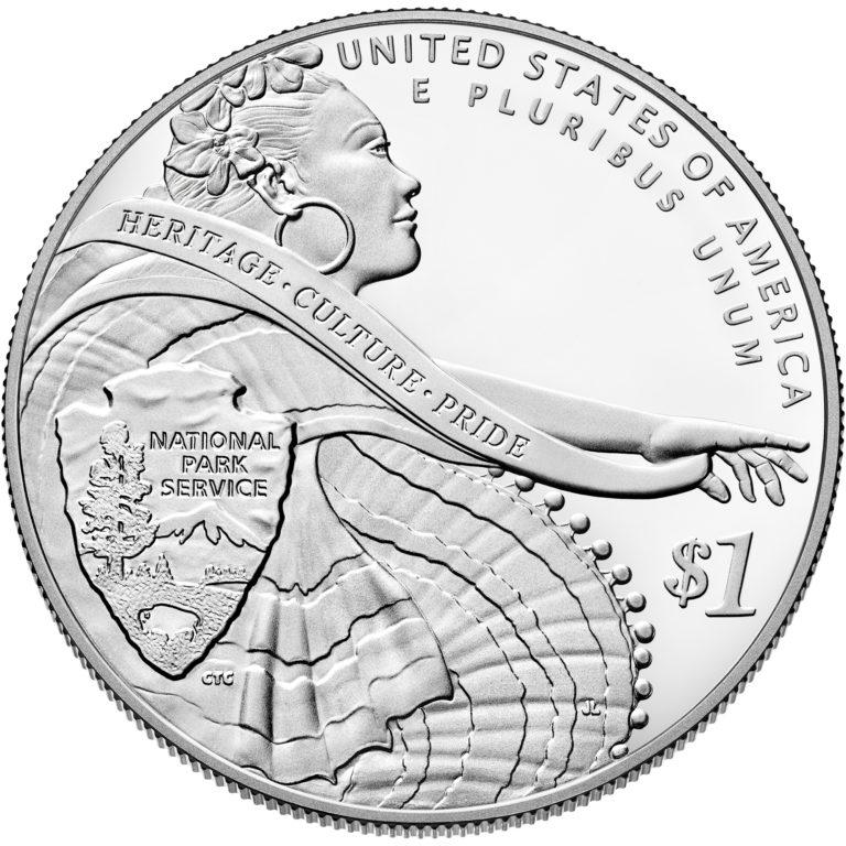 2016 National Park Service Centennial Commemorative Silver Proof Reverse