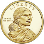 2018 Native American One Dollar Proof Coin Obverse
