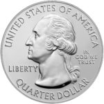 2019 America the Beautiful Quarters Five Ounce Silver Bullion Coin Obverse
