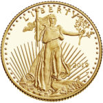 2019 American Eagle Gold Quarter Ounce Proof Coin Obverse