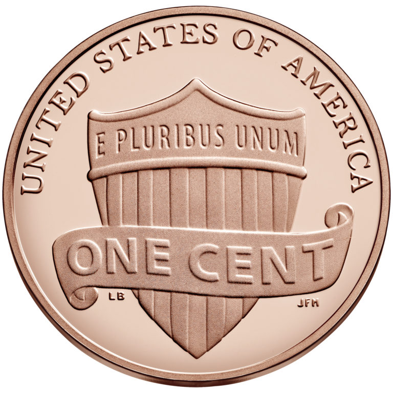 2019 Lincoln Penny Proof Reverse