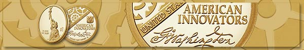 American Innovators gold banner