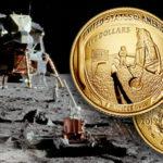Apollo 11 50th Anniversary Commemorative Coin Banner