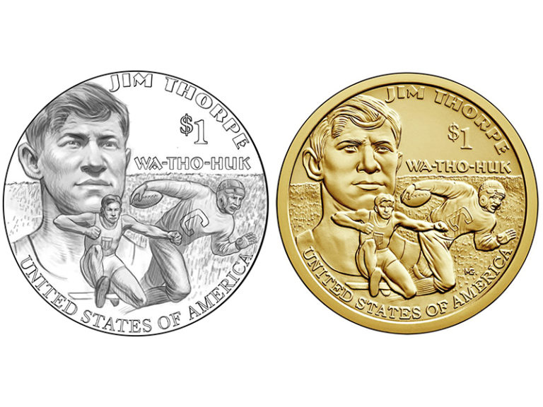 2018 Native American Dollar Coin reverse design and sculpt