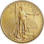 2019 American Eagle Gold One Half Ounce Bullion Coin Obverse