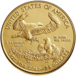 2019 American Eagle Gold One Half Ounce Bullion Coin Reverse