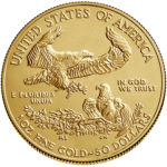2019 American Eagle Gold One Ounce Bullion Coin Reverse