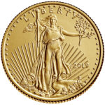 2019 American Eagle Gold One Quarter Ounce Bullion Coin Obverse