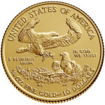 2019 American Eagle Gold One Quarter Ounce Bullion Coin Reverse