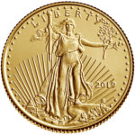 2019 American Eagle Gold One Tenth Ounce Bullion Coin Obverse