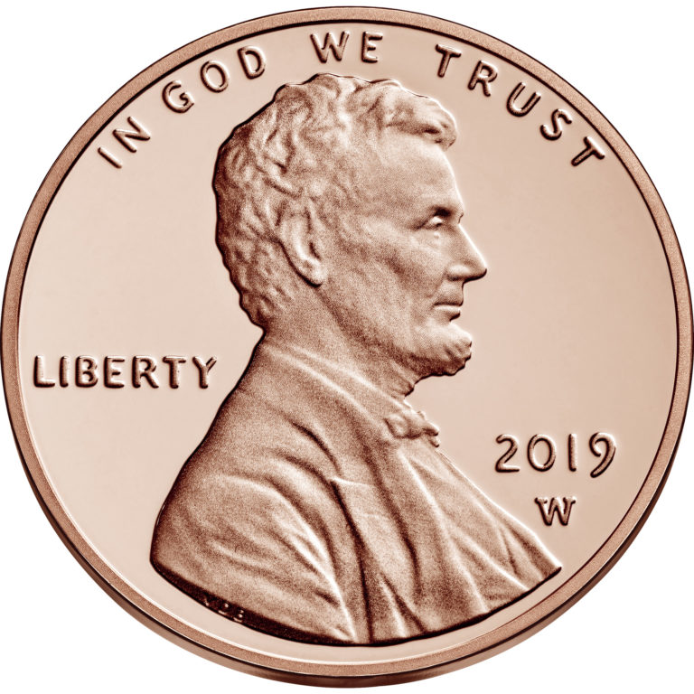 2019 Lincoln Penny Proof Obverse West Point