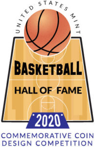 basketball hall of fame 2020 commemorative coin design competition