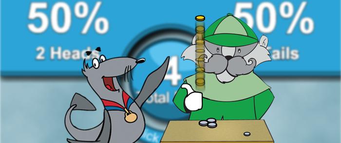 Coin Flip game kids homepage hero