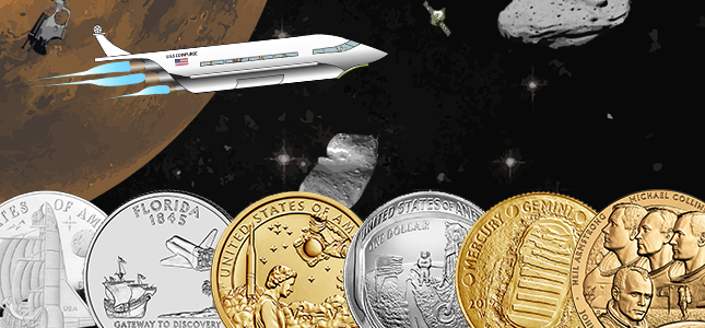 National Coin Week Apollo space coins Space Supply image