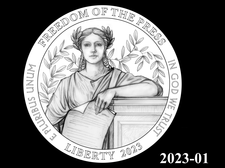 01-2023 -- 2021 - 2025 American Eagle Platinum Proof Program