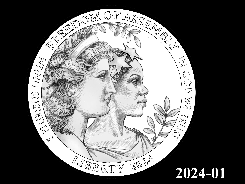 01-2024 -- 2021 - 2025 American Eagle Platinum Proof Program