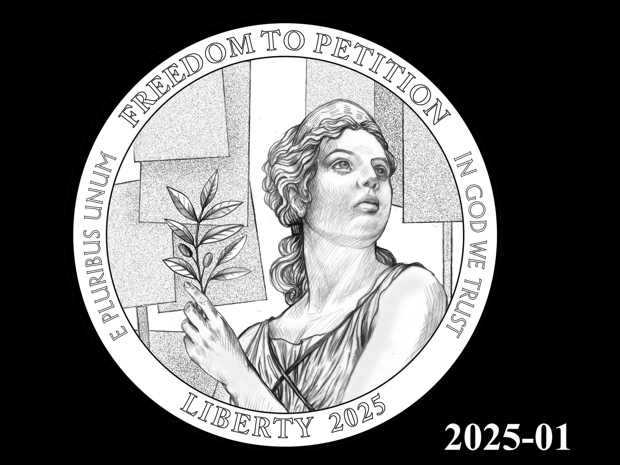 01-2025 -- 2021 - 2025 American Eagle Platinum Proof Program
