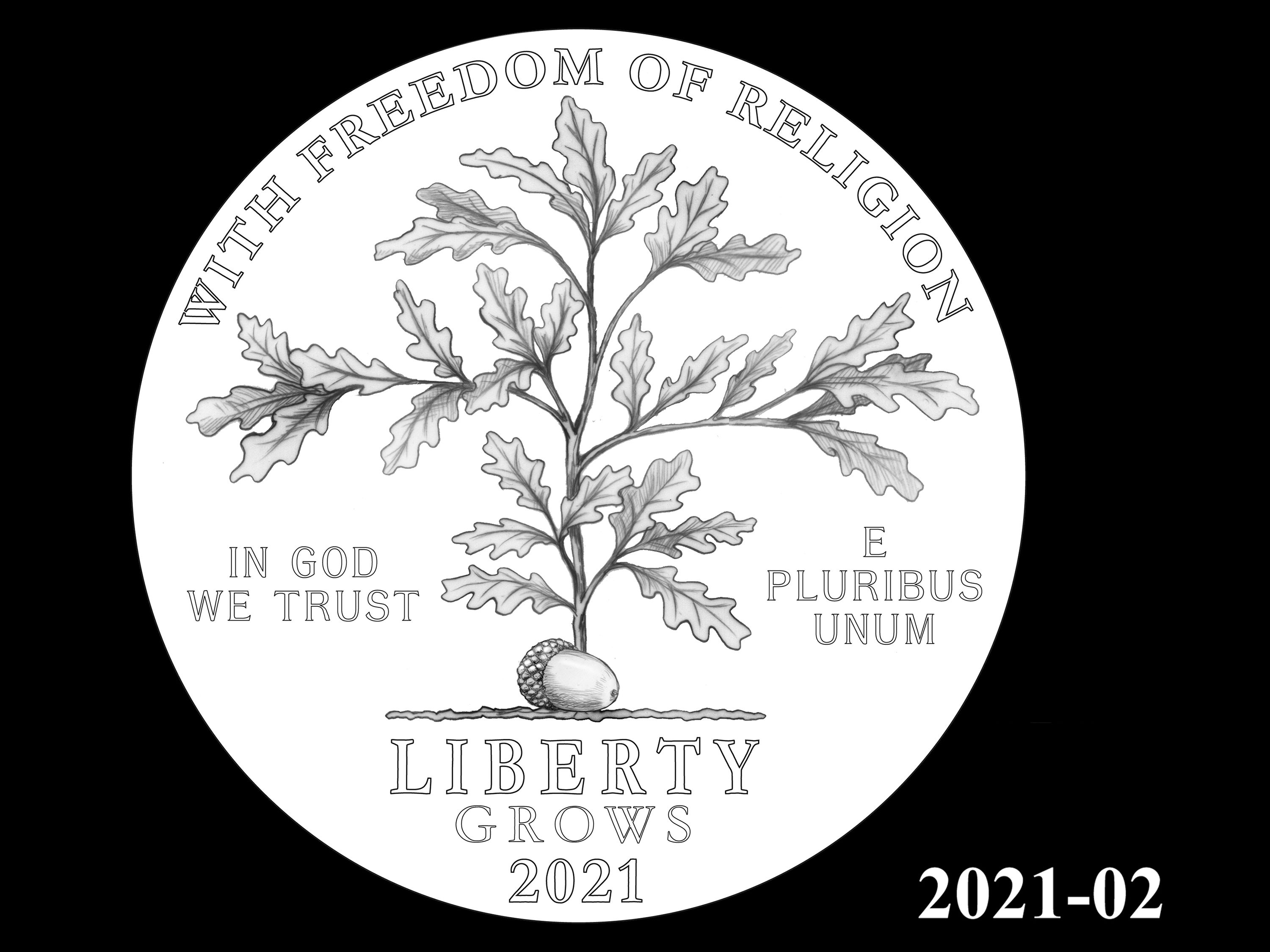 02-2021 -- 2021 - 2025 American Eagle Platinum Proof Program
