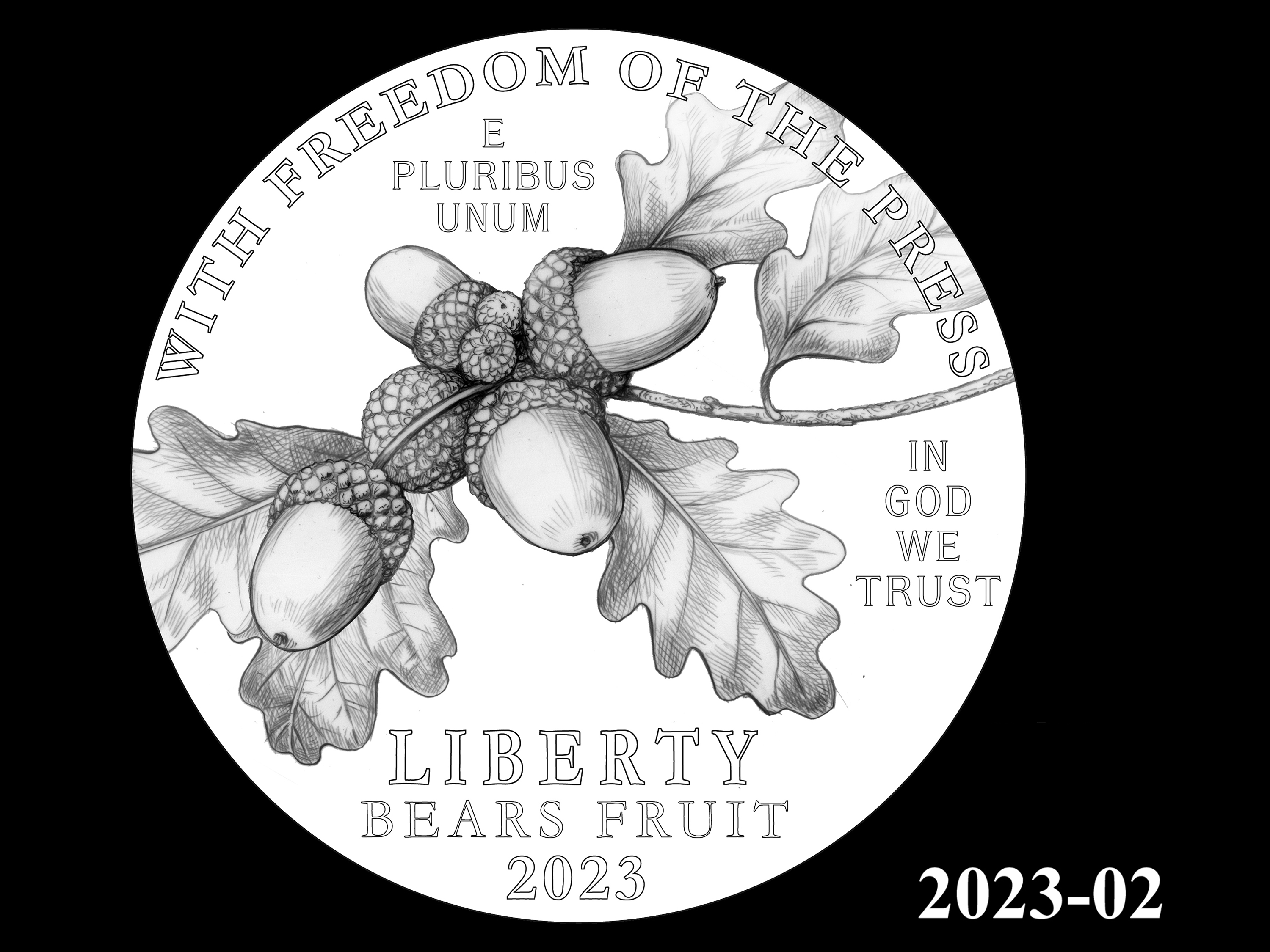 02-2023 -- 2021 - 2025 American Eagle Platinum Proof Program