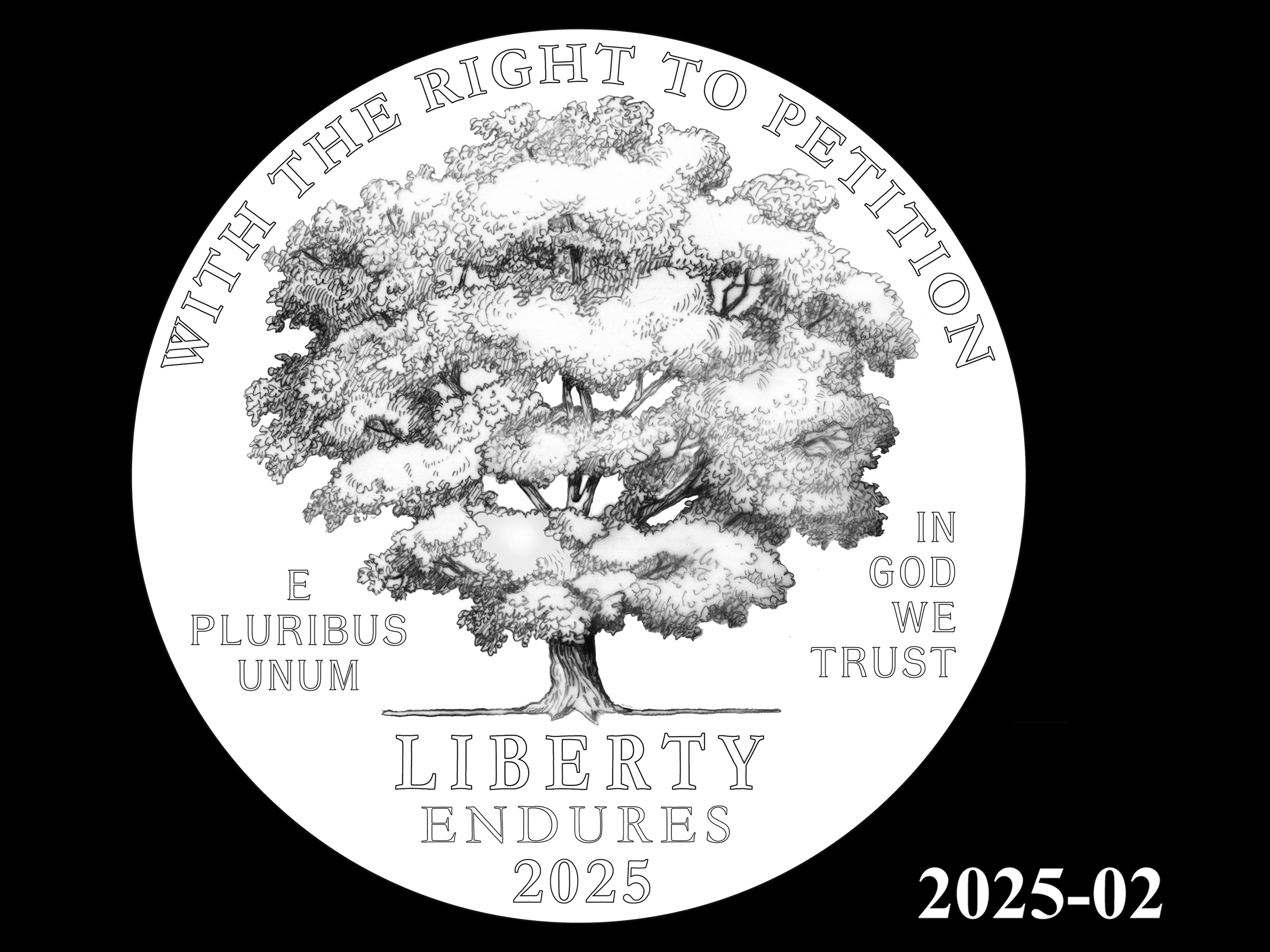 02-2025 -- 2021 - 2025 American Eagle Platinum Proof Program