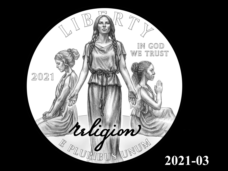 03-2021 -- 2021 - 2025 American Eagle Platinum Proof Program