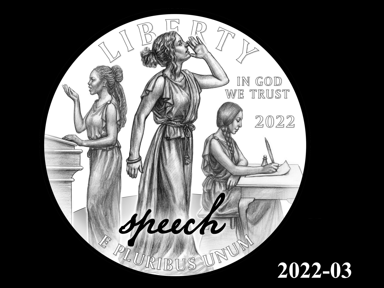 03-2022 -- 2021 - 2025 American Eagle Platinum Proof Program